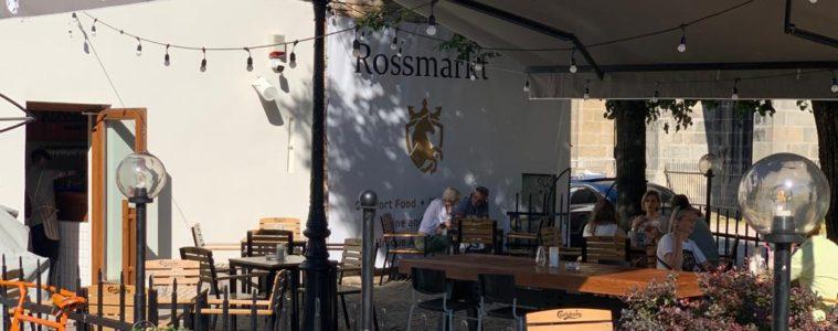 Restaurant terasa Rossmarkt