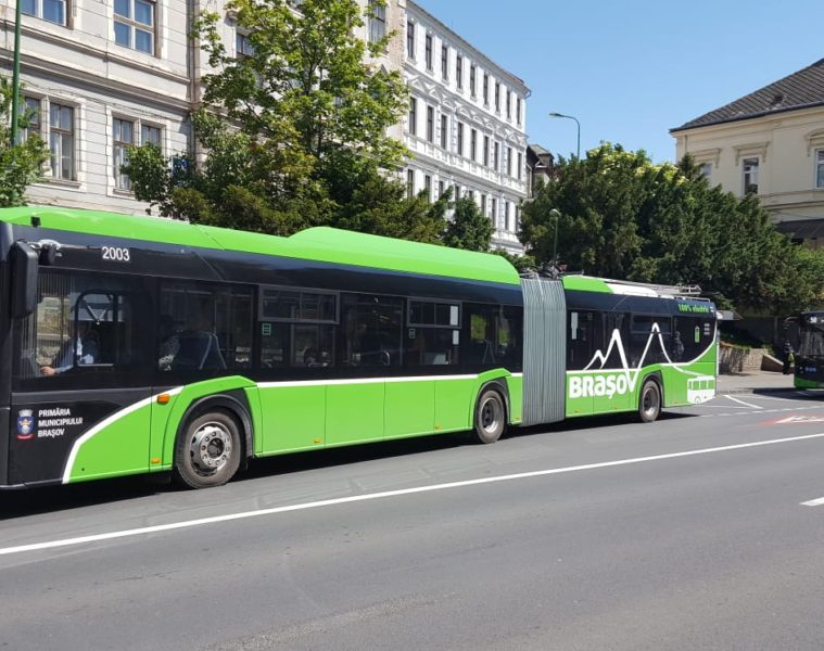 Troleibuze RATBV transport in comun 5